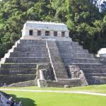 The Temple of Inscriptions in Palenque, Mexico